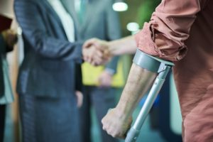 example of injury that would require disability insurance